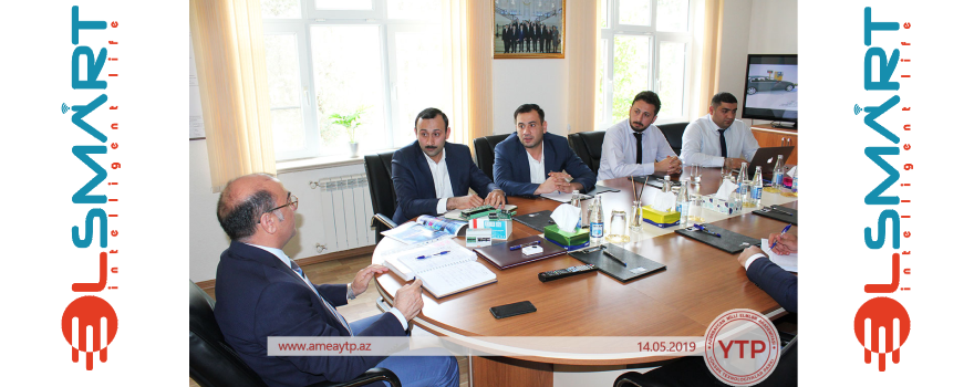 Business meeting between SMART HOME and the High Technology Park of ANAS