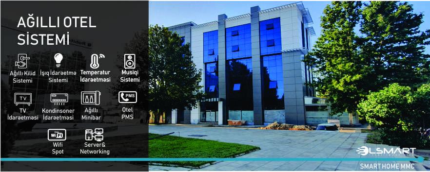 """""""Smart Hotel"""" Project in Ganja"""